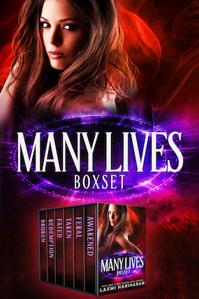 Many Lives Boxed Set by Laxmi Hariharan